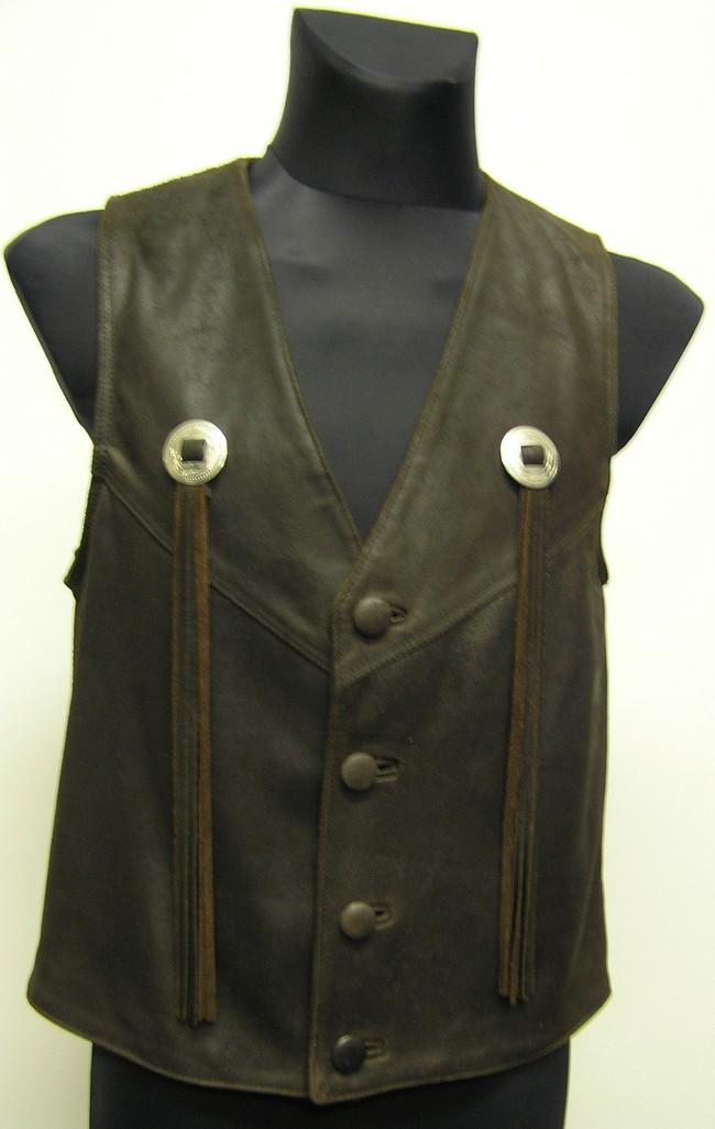 Pánská kožená vesta empty caa18ee8478